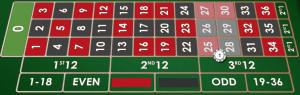 6 line roulette bets